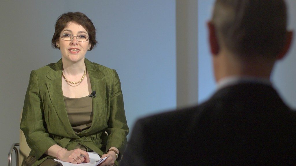 The Business Channel filming, April 2012