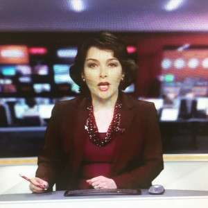 Sarah Lockett, Forces TV, 2015