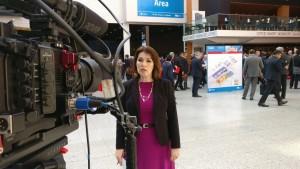 Sarah at EAU T V