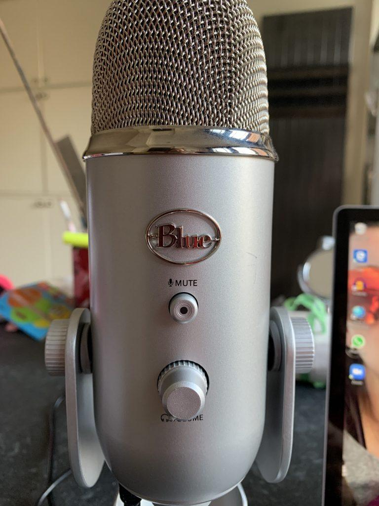 Microphone, Sarah Lockett